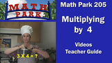 MATH PARK 205: MULTIPLYING BY 4