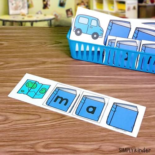 Kindergarten Centers - First Quarter Simply Centers Bundle