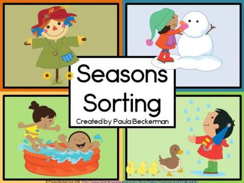 Seasons Sorting