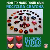 How to Make Your Own Recycled Crayons