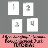 Tips for Rearranging Artboards