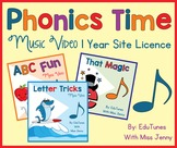 Phonics Time: The COMPLETE Set