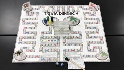 Trivia Dungeon Expansion Pack, 6th Grade, Units 9 through 10