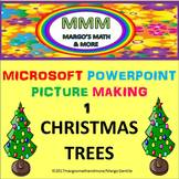 Video #1: Make Christmas Trees With Microsoft Powerpoint's
