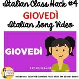 Italian Class Transition Video Thursday for CI TCI TPRS an