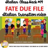 Italian Transition Video Two Rows for CI TCI TPRS 90% Targ