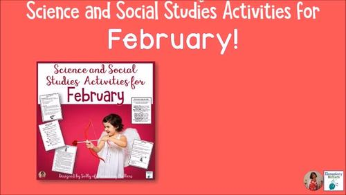 Science and Social Studies Activities for February
