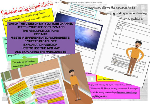 Subordinate Conjunctionshow To And Practise Worksheets By Avatar