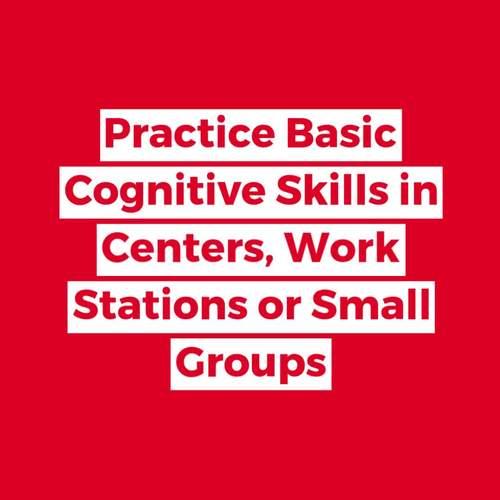 Basic Cognitive Skills Task Cards