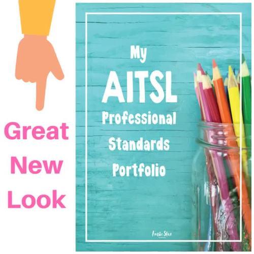 AITSL Standards Portfolio Organiser DIGITAL VERSION