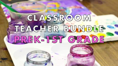 Classroom Teacher Bundle: PreK-1st Grade