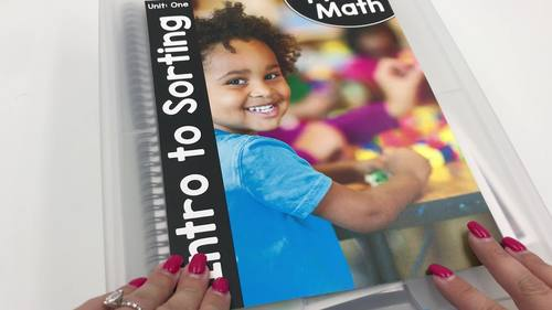Pre-K Math (Preschool Math) Curriculum Units GROWING BUNDLED