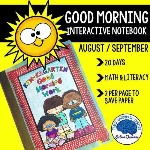 Morning Work - Interactive Notebook September (20 days)