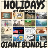 Holidays & Observances FULL YEAR Giant Video and Activitie
