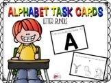 Alphabet Task Cards in Action