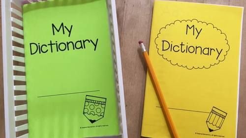 Student Dictionary: Dolch Sight Words, Fry's 100 Words and More!