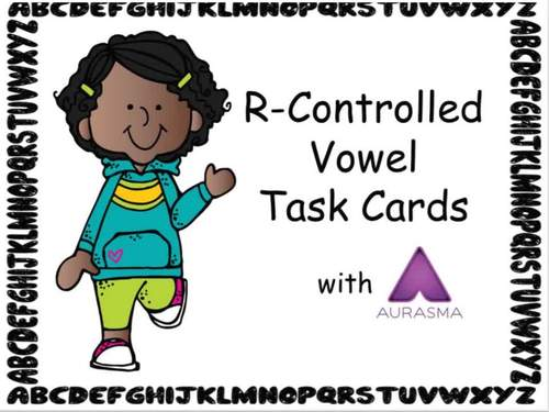 Augmented Reality Phonics Task Cards Using Aurasma R-Controlled Vowels
