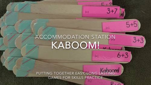 Kaboom! ELA & Math Bundle