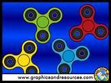 FIDGET SPINNERS CLIPART PREVIEW