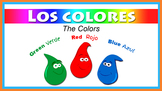 Colors & Shapes Theme in Spanish w/ Animated Videos - Colo