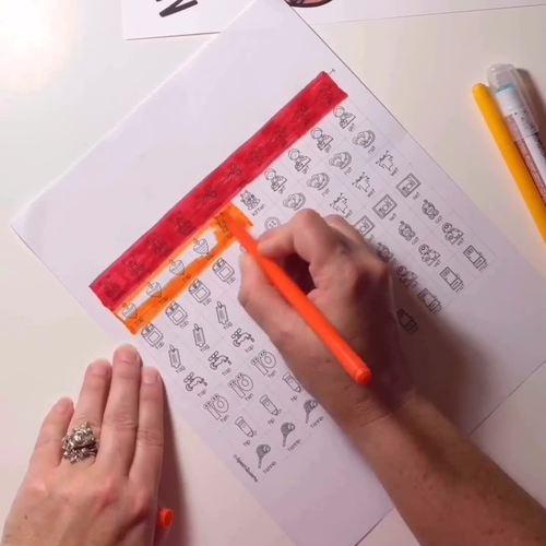 Nutty Acorn Speech Craft (articulation language) cut and paste
