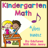 Back to School: KinderMath Kindergarten Math COMPLETE Set