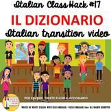 Italian Transition Video Vocabulary for CI TCI TPRS 90% Ta