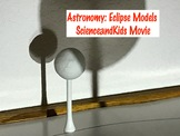 Astronomy Eclipse Models Movie