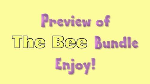 High Frequency Story of The Bee Bundle