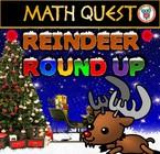 Christmas Math Quest - Reindeer