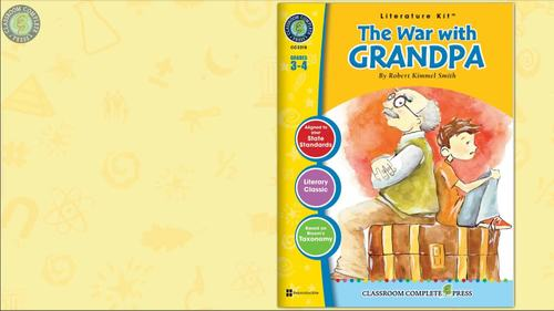 The War with Grandpa - Literature Kit Gr. 3-4