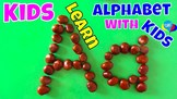 Kids Create And Learn Letters Of The Alphabet With Kids
