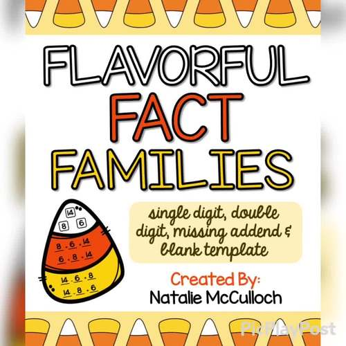 Flavorful Fact Families