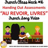 "French Class Transition Video ""Time for Assessment"" for CI"