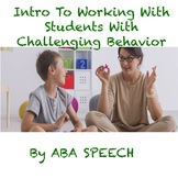 Functions Of Behavior: An Introduction- Autism Webinar Ser