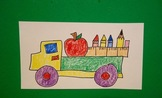 Let's Draw a School Supply Truck!