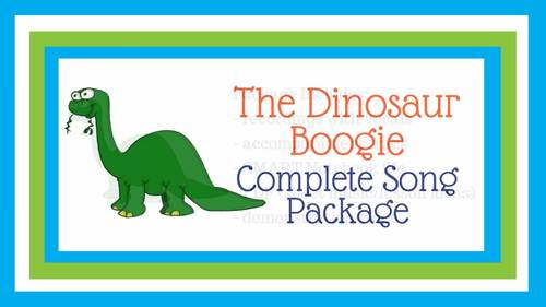 """Dinosaur Action Song 