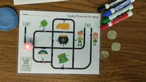 Ozobot Rainbow Maze