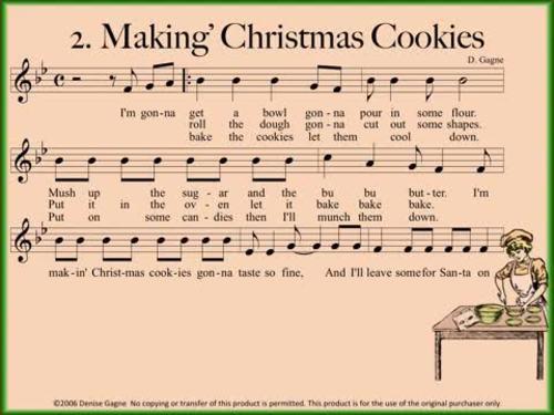 Makin' Christmas Cookies