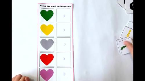 Valentine`s Day Activity - All About Hearts