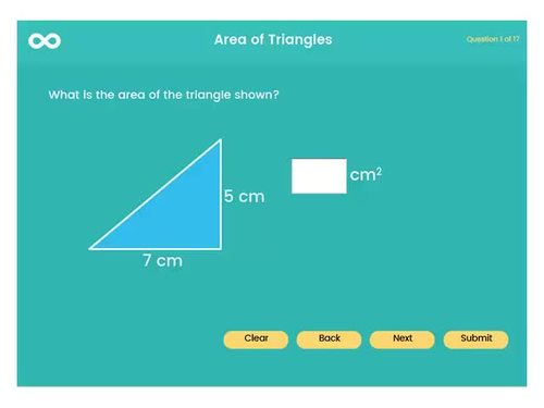 Area of parallelograms and triangles - 5th grade, (UK year 6, key stage 2)