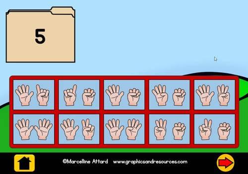 BOOM CARDS MATH (NUMBER SENSE ACTIVITIES KINDERGARTEN) SUBITIZING 1-10