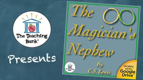 The Magician's Nephew Novel Study Book Unit