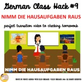"09_German Class Transition Video ""Take Out the Homework"" f"