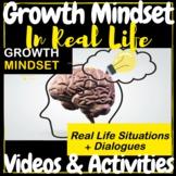 Life Skills Growth Mindset Real Life Situations Video & Ac