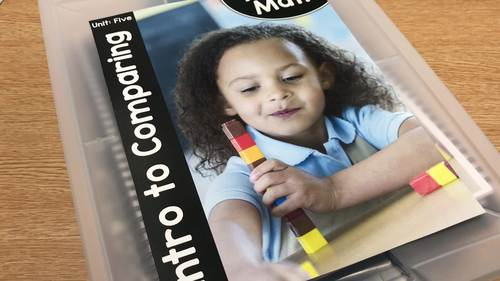 Pre-K Math (Preschool Math) Unit Five: Comparing to 10
