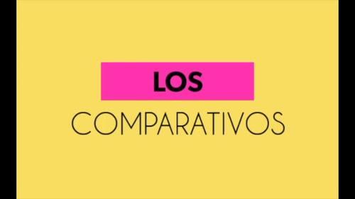 Los comparativos y superlativo Spanish Video