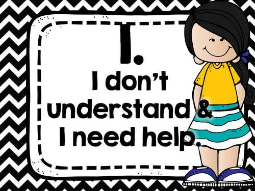Rate Your Understanding Posters with Melonheadz Clipart