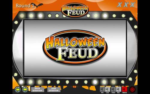Fun Halloween Game - Family Feud Trivia Powerpoint Game - Mac and PC Compatible