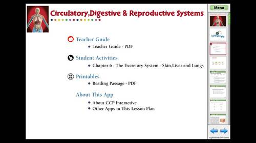 The Excretory System - Skin, Liver and Lungs - MAC Gr. 3-8